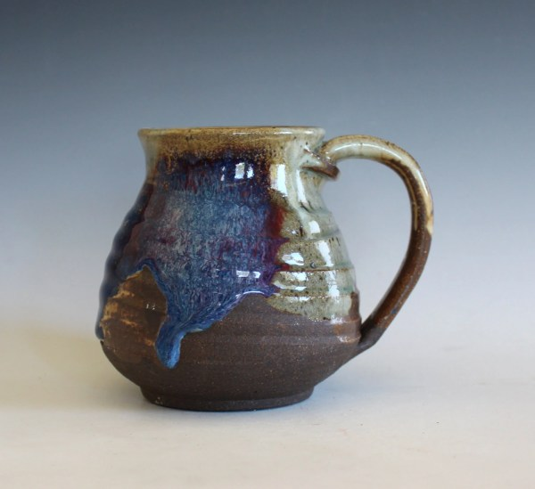 Coffee Mug 16 oz handthrown ceramic mug stoneware pottery