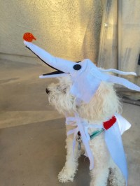 Items similar to Nightmare Before Christmas ZERO Dog/Cat ...