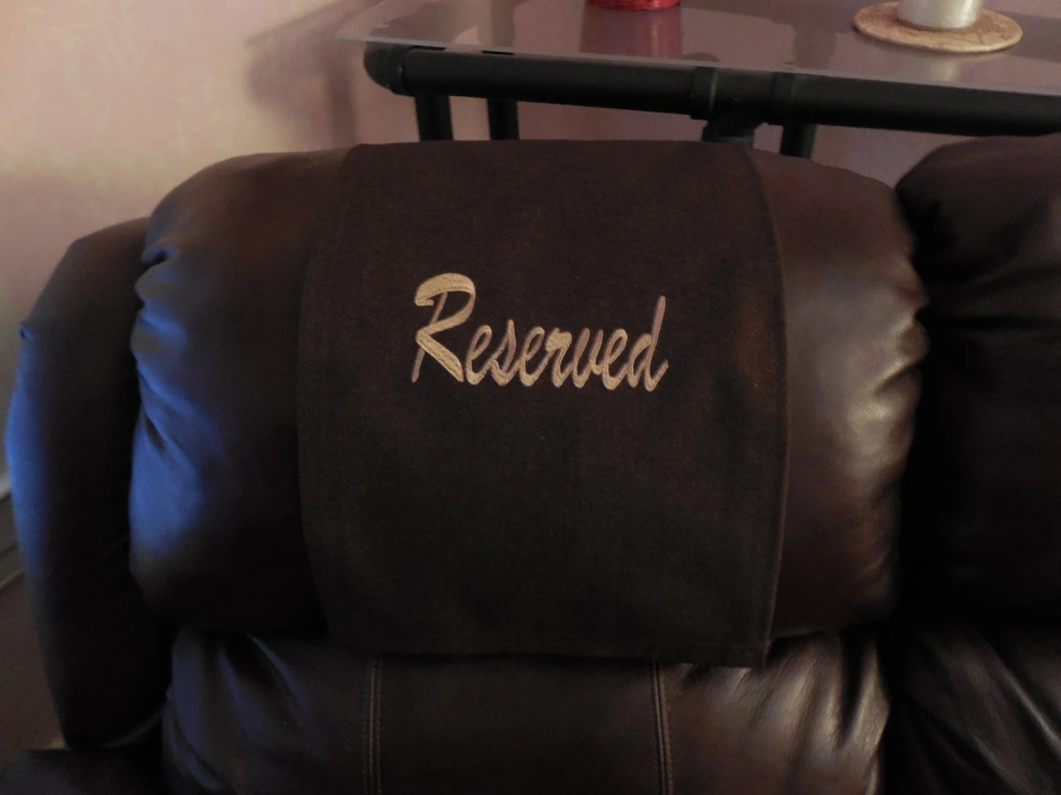 chair covers for headrest lunchroom chairs canada caps pads recliner hd by stitchnart