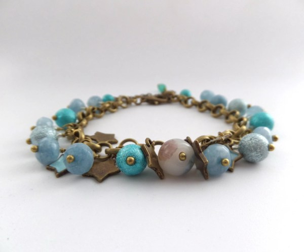 Antique Aquamarine Bracelet