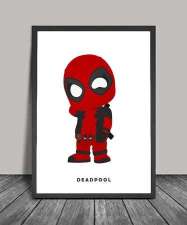 Deadpool Postersuperheroes Minimalist Deadpool Superhero