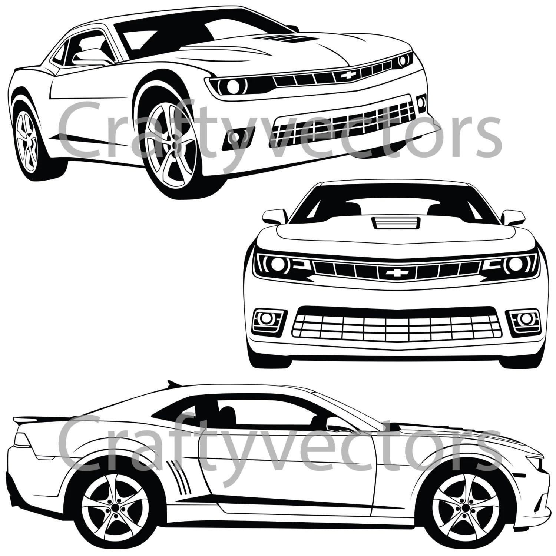 Chevrolet Camaro Vector File