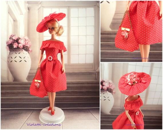 Evening Dress Eva For Barbie Doll