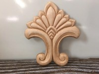 Wood Applique Embossed, Craft Appliques, Furniture ...