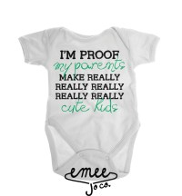 New Dad Gift Baby Shirt Funny Baby Clothes Gender by EmeeJoCo