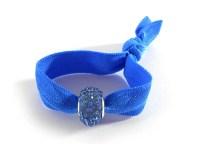 Elegant Hair Tie Bracelet Ponytail Holder in Royal Blue by ...