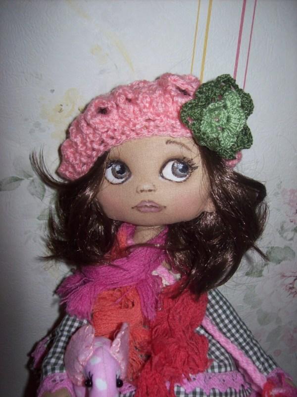Handmade Cloth Art Doll