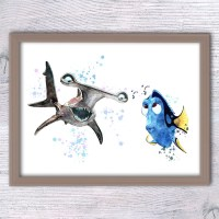 Finding Dory Nursery Finding Nemo Anchor Wall art Dory and