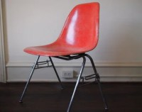 Red eames chair | Etsy