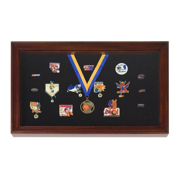 Display Case Shadowbox Pins Medals Badges