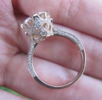 Imperial Crown Engagement Ring Crown Ring Semi Mount 10mm