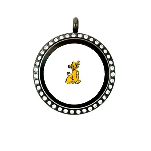 Lion King Simba Floating Charm by PandemoniumTreasures on Etsy