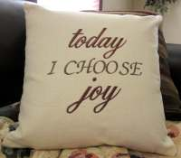 Pillow Embroidered Pillow Words Pillow Sayings Pillow