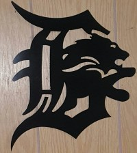 Detroit lions Detroit Tigers Metal Wall Art