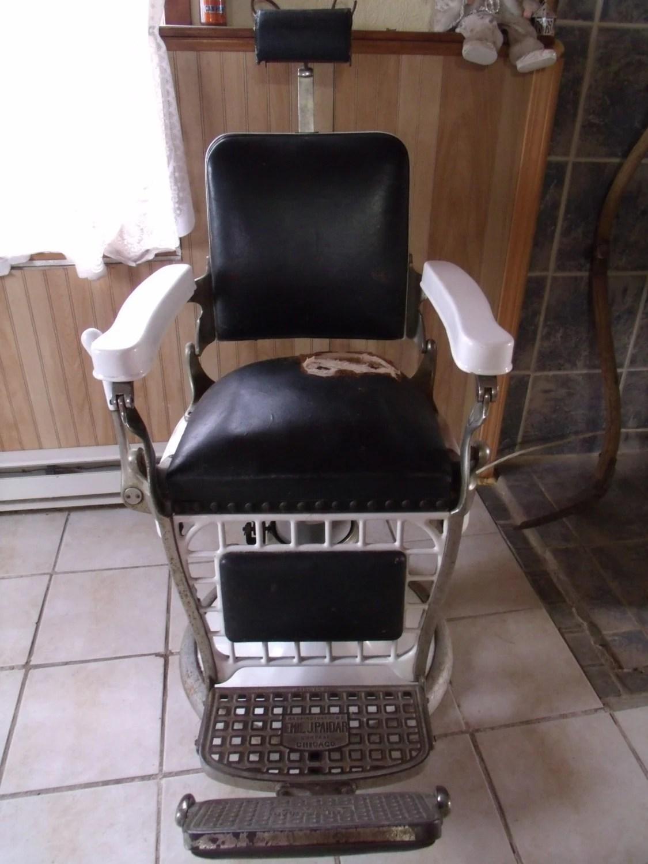 1920s Original Barbers Chair
