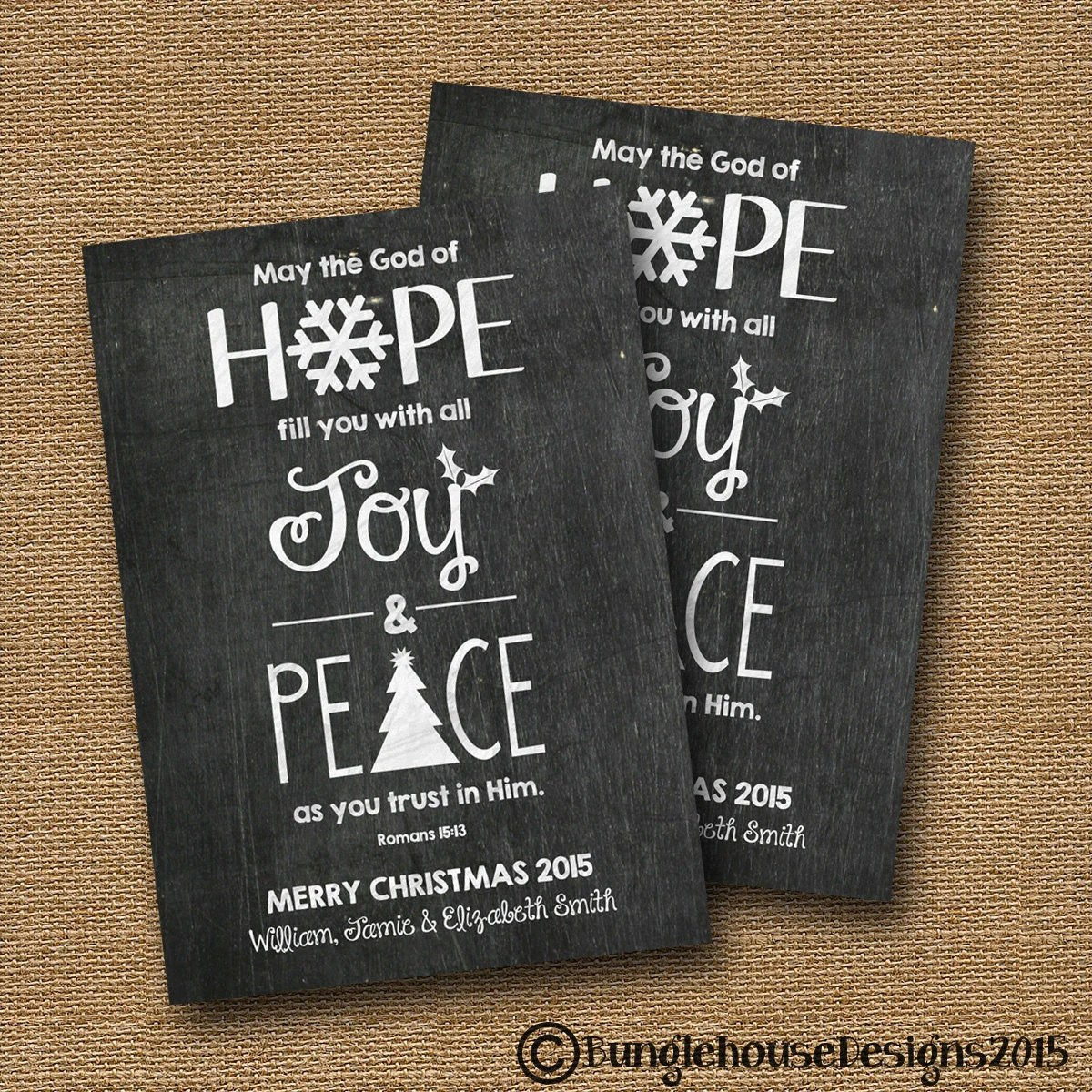 Printable Christian Christmas Card Diy Printable