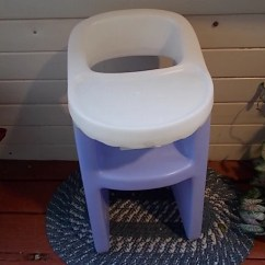 Little Tikes Doll High Chair Green Parsons Purple Lavender / Not Included In