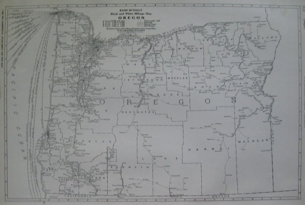 Vintage Oregon Map.20 Antique Mineral Maps Of Oregon Pictures And Ideas On Meta Networks