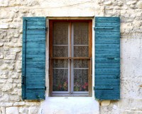 Provence France Country French Decor. Distressed Shutters