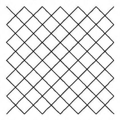 Free motion quilting block borderless crosshatch diamonds