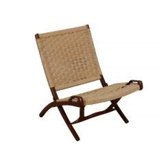 Modern Folding Chair Large Office Hans Wegner Style Danish