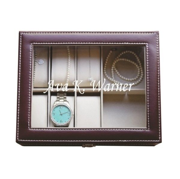 Personalized Engraved Jewelry Box