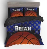 Top 28 - Basketball Comforter Set - boys sports bedding ...