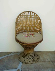 Vintage Spun Fiberglass Patio Furniture