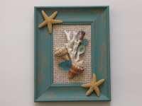 Framed Seashell Artwork | www.imgkid.com - The Image Kid ...