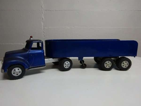 Vintage 1950' Tonka Semi Truck And Freighter Free