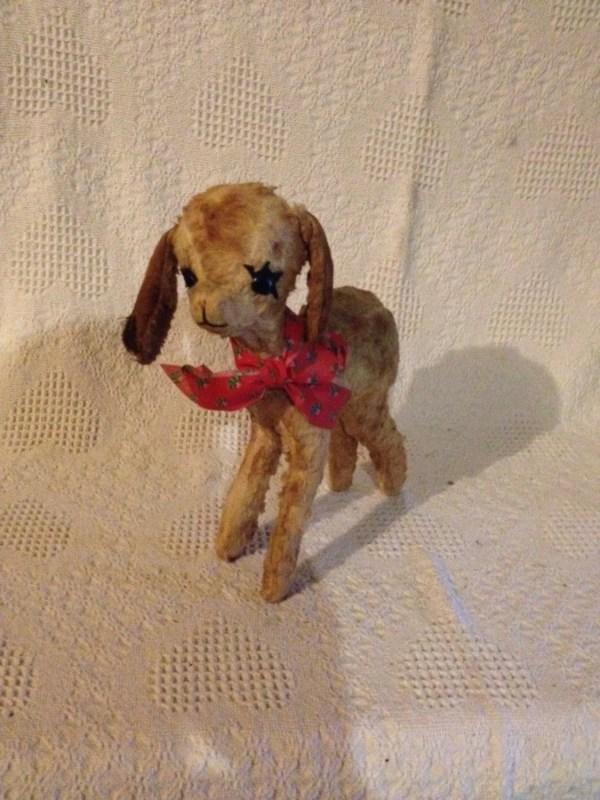 Vintage Deer Fawn Doe Stuffed Animal 13 Tall 8