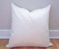 20x20 Pillow Insert Feather Insert Throw Pillows Pillows