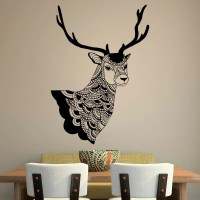 Deer Wall Decal Country Wall Decals Vinyl by FabWallDecals ...