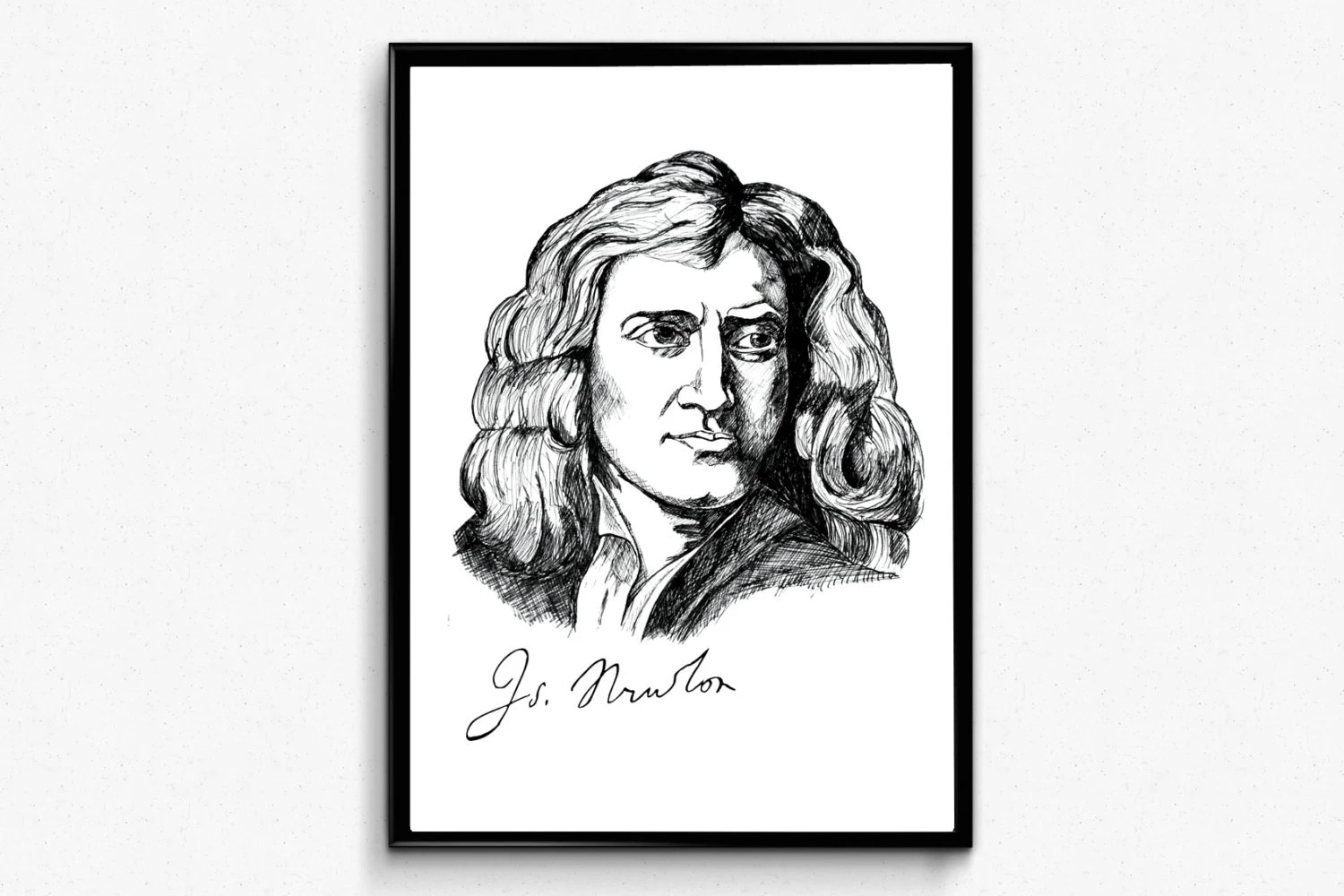 Popular items for isaac newton on Etsy