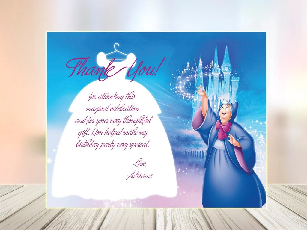 Fairy Godmother Thank You Disney Cinderella Will You Be