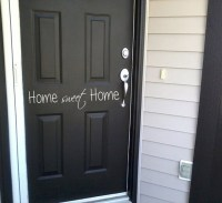 Home Sweet Home Wall Decal Door Sign Stickers by ...