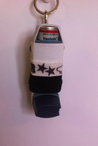 Inhaler Holder Cheerleading by ResQSac on Etsy