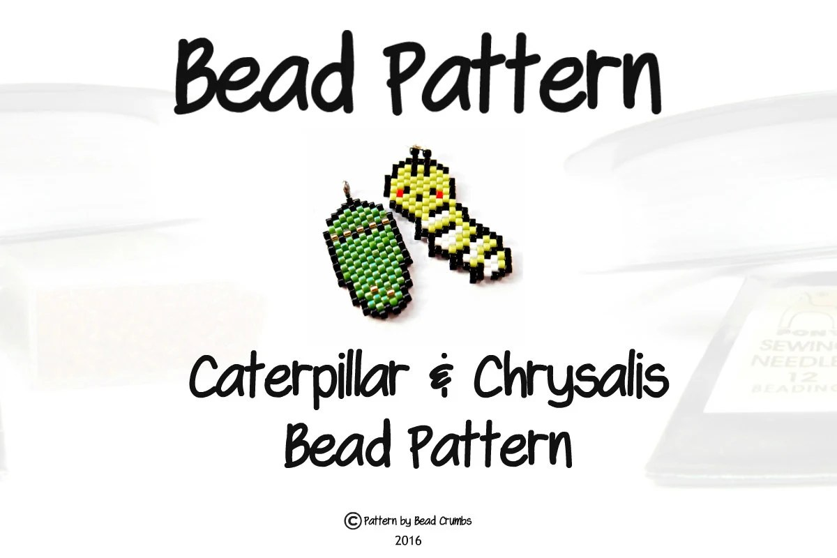 Bead Patterns: Caterpillar and Chrysalis PDF Beading Chart