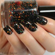 pumpkin carousel 12ml glitter nail