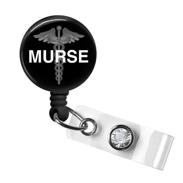 Male Nurse Retractable Badge Reel Medical Reels Tech