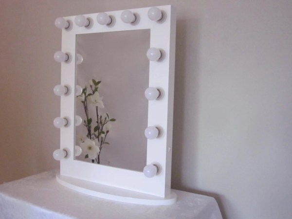 Hollywood Impact Lighted Vanity Mirror With Led Impactvanity