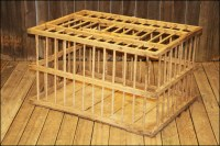 Vintage Primitive CHICKEN CRATE Wood Box by ...