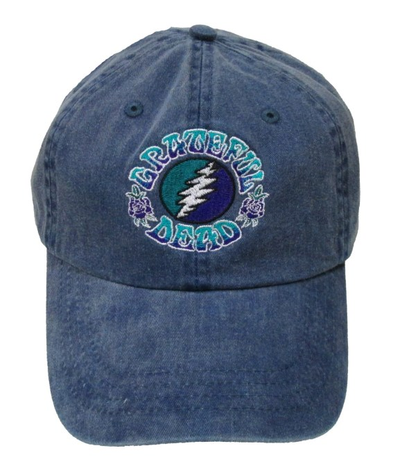 Grateful Dead Hat 13 Point Lightning Bot Embroidered Baseball