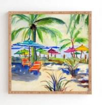Caribbean Time Framed Wall Art
