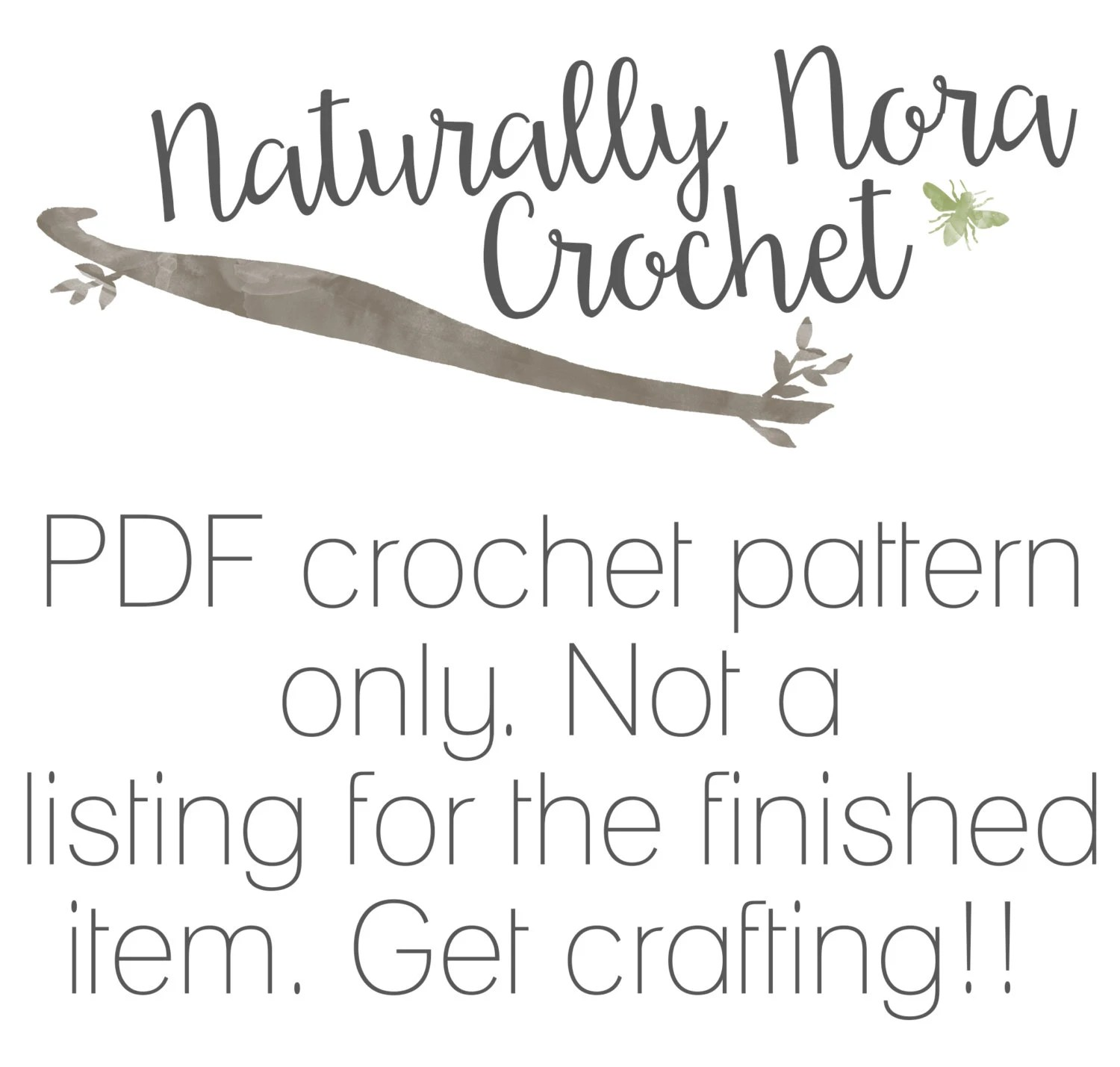 Crochet Pattern: The Betsy Tam Toddler Child & Adult