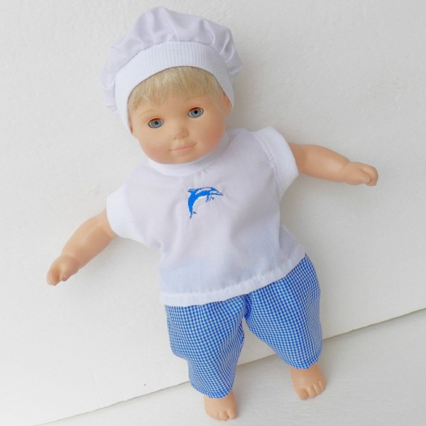 Boy Doll Clothes Bitty Baby Handmade Twin