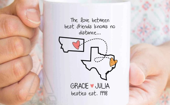 Best Friend Gift Long Distance Friendship Christmas Gifts