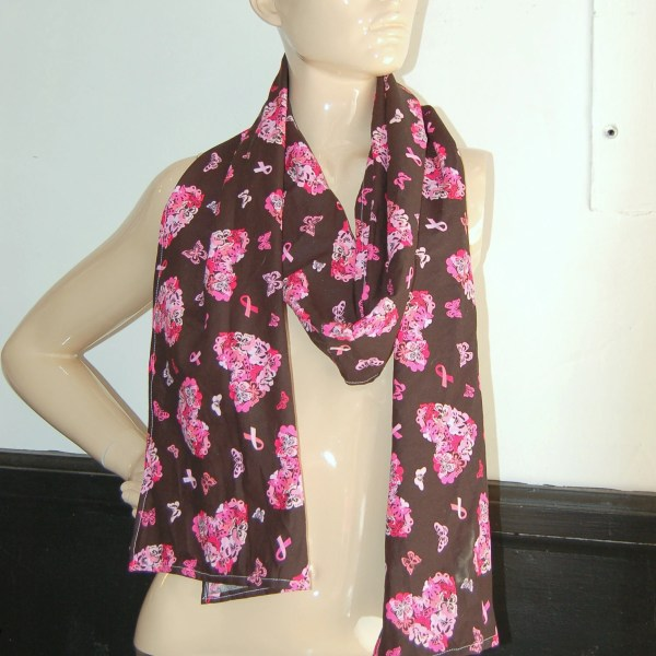 Pink Ribbon Breast Cancer Women' Scarves