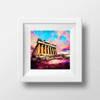 Ancient Greece Greek Art Greek Wall Decor Acropolis by