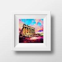 Ancient Greece Greek Art Greek Wall Decor Acropolis by ...